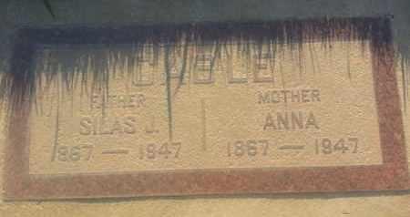 CABLE, ANNA - Los Angeles County, California   ANNA CABLE - California Gravestone Photos