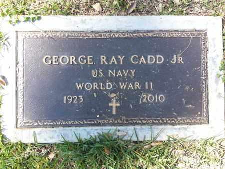CADD, GEORGE R. - Los Angeles County, California | GEORGE R. CADD - California Gravestone Photos