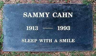 CAHN, SAMMY - Los Angeles County, California | SAMMY CAHN - California Gravestone Photos