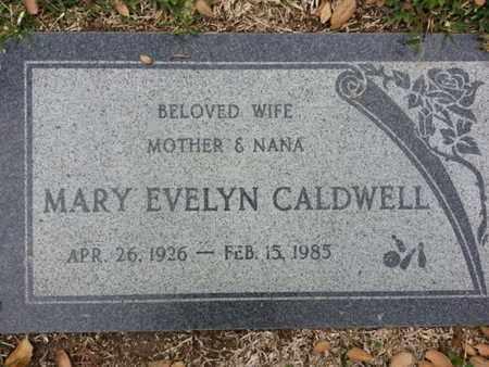 CALDWELL, MARY - Los Angeles County, California | MARY CALDWELL - California Gravestone Photos