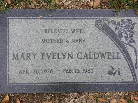 CALDWELL, MARY - Los Angeles County, California | MARY CALDWELL - California Gravestone Photos