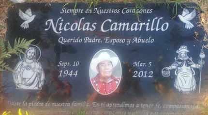 CAMARILLO, NICOLAS - Los Angeles County, California | NICOLAS CAMARILLO - California Gravestone Photos