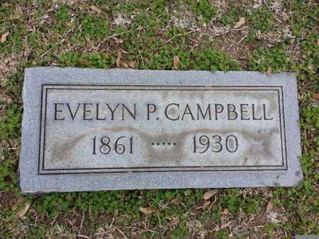 CAMPBELL, EVELYN P. - Los Angeles County, California | EVELYN P. CAMPBELL - California Gravestone Photos