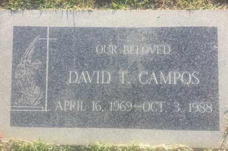 CAMPOS, DAVID - Los Angeles County, California | DAVID CAMPOS - California Gravestone Photos