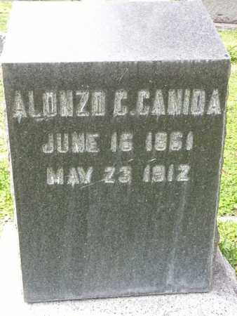 CANIDA, ALONZO C. - Los Angeles County, California | ALONZO C. CANIDA - California Gravestone Photos