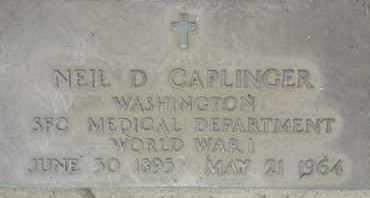 CAPLINGER, NEIL - Los Angeles County, California | NEIL CAPLINGER - California Gravestone Photos