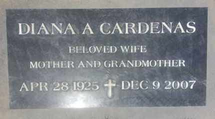 CARDENAS, DIANA - Los Angeles County, California | DIANA CARDENAS - California Gravestone Photos