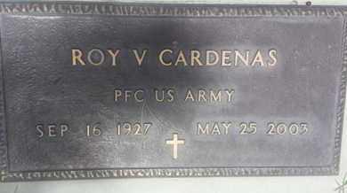 CARDENAS, ROY - Los Angeles County, California | ROY CARDENAS - California Gravestone Photos