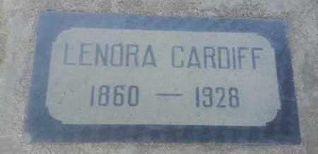 CARDIFF, LEONRA - Los Angeles County, California   LEONRA CARDIFF - California Gravestone Photos