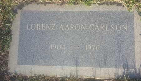 CARLSON, LORENZ - Los Angeles County, California   LORENZ CARLSON - California Gravestone Photos