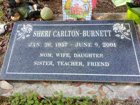 CARLTON BURNETT, SHERI - Los Angeles County, California | SHERI CARLTON BURNETT - California Gravestone Photos