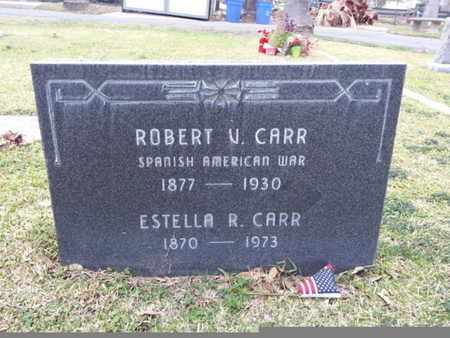CARR, ROBERT V. - Los Angeles County, California | ROBERT V. CARR - California Gravestone Photos