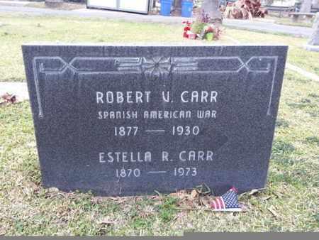 CARR, ROBERT V. - Los Angeles County, California | ROBERT V. CARR - California Gravestone Photos