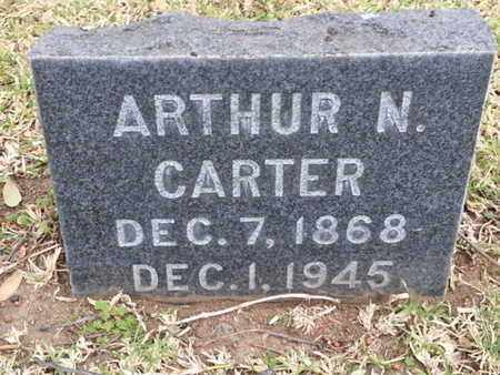 CARTER, ARTHUR N. - Los Angeles County, California | ARTHUR N. CARTER - California Gravestone Photos