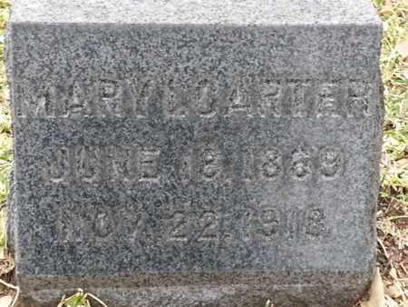 CARTER, MARY L. - Los Angeles County, California   MARY L. CARTER - California Gravestone Photos
