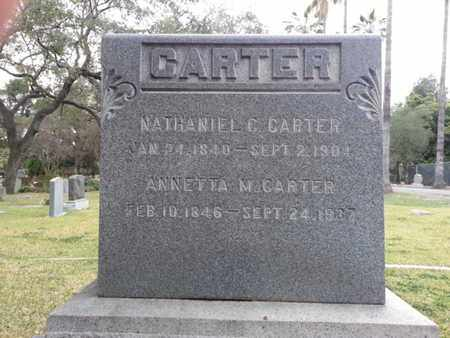 CARTER, NATHANIEL C. - Los Angeles County, California | NATHANIEL C. CARTER - California Gravestone Photos