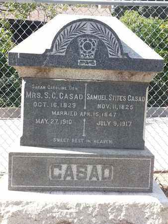 DEW CASAO, SARAH CAROLINE - Los Angeles County, California | SARAH CAROLINE DEW CASAO - California Gravestone Photos