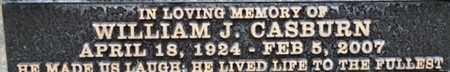CASBURN, WILLIAM J. - Los Angeles County, California | WILLIAM J. CASBURN - California Gravestone Photos