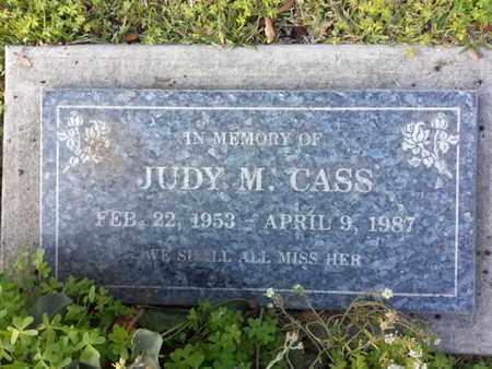 CASS, JUDY M. - Los Angeles County, California   JUDY M. CASS - California Gravestone Photos
