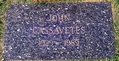 CASSAVETES, JOHN NICHOLAS - Los Angeles County, California   JOHN NICHOLAS CASSAVETES - California Gravestone Photos