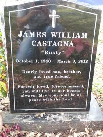 CASTAGNA, JAMES WILLIAM - Los Angeles County, California | JAMES WILLIAM CASTAGNA - California Gravestone Photos