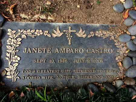 CASTRO, JANETE A. - Los Angeles County, California | JANETE A. CASTRO - California Gravestone Photos