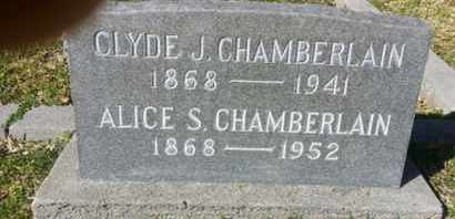 CHAMBERLAIN, ALICE S. - Los Angeles County, California | ALICE S. CHAMBERLAIN - California Gravestone Photos