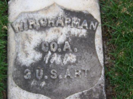 CHAPMAN, W. R.  [CW] - Los Angeles County, California   W. R.  [CW] CHAPMAN - California Gravestone Photos