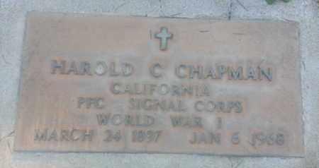 CHAPMAN, HAROLD - Los Angeles County, California | HAROLD CHAPMAN - California Gravestone Photos