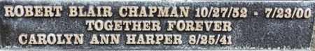 CHAPMAN, ROBERT BLAIR - Los Angeles County, California | ROBERT BLAIR CHAPMAN - California Gravestone Photos