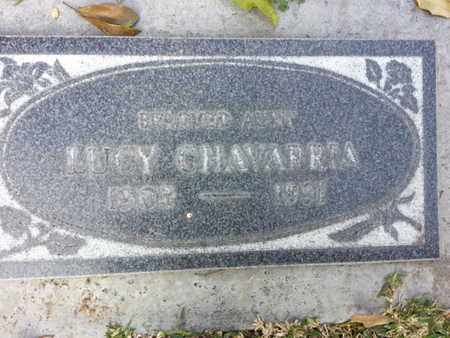 CHAVARRIA, LUCY - Los Angeles County, California | LUCY CHAVARRIA - California Gravestone Photos
