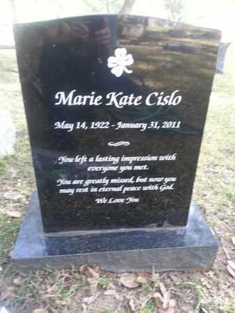 CISLO, MARIE KATE - Los Angeles County, California | MARIE KATE CISLO - California Gravestone Photos