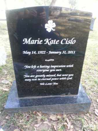 CISLO, MARIE KATE - Los Angeles County, California | MARIE KATE CISLO - California Gravestone Photos