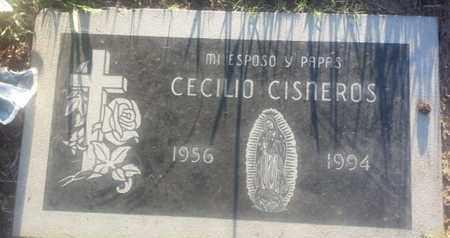 CISNEROS, CECILIO - Los Angeles County, California   CECILIO CISNEROS - California Gravestone Photos