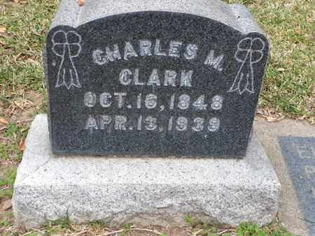 CLARK, CHARLES M. - Los Angeles County, California | CHARLES M. CLARK - California Gravestone Photos