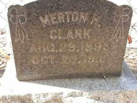 CLARK, MERTON - Los Angeles County, California   MERTON CLARK - California Gravestone Photos
