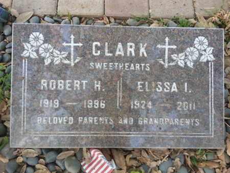 CLARK, ELISS I. - Los Angeles County, California | ELISS I. CLARK - California Gravestone Photos