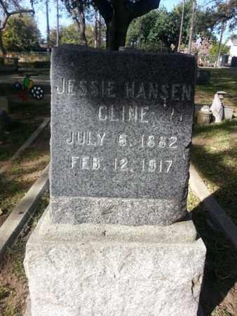 CLINE, JESSIE - Los Angeles County, California   JESSIE CLINE - California Gravestone Photos