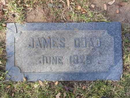 COAD, JAMES - Los Angeles County, California | JAMES COAD - California Gravestone Photos