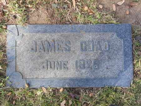 COAD, JAMES - Los Angeles County, California | JAMES COAD - California Gravestone Photos