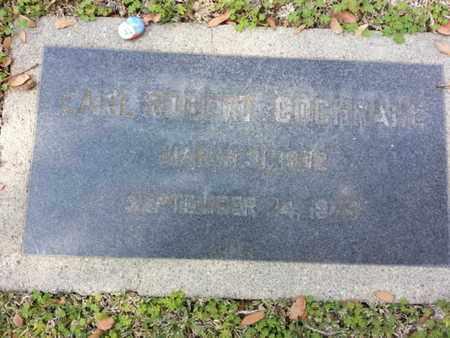 COCHRANE, EARL R. - Los Angeles County, California   EARL R. COCHRANE - California Gravestone Photos