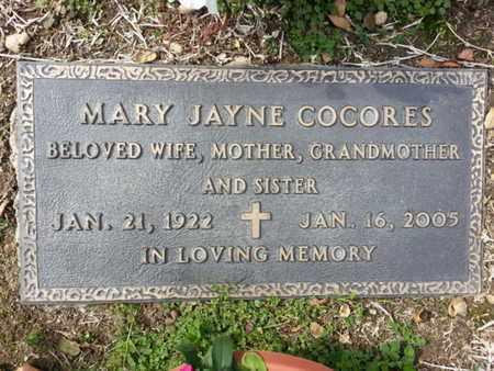 COCORES, MARY - Los Angeles County, California   MARY COCORES - California Gravestone Photos