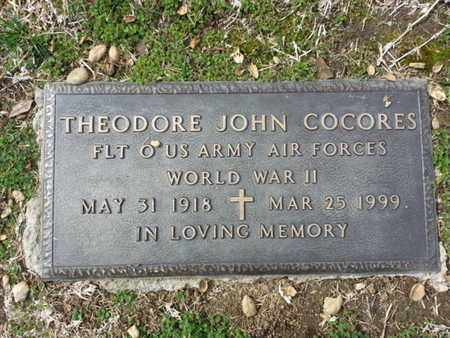 COCORES, THEORDORE J. - Los Angeles County, California | THEORDORE J. COCORES - California Gravestone Photos