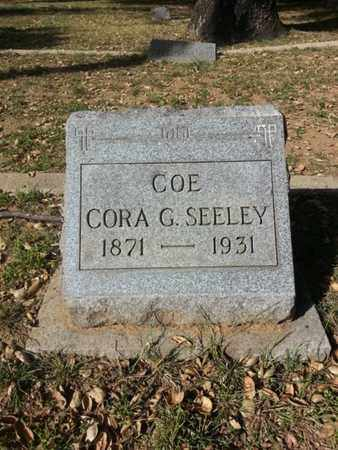 COE, CORA G. - Los Angeles County, California | CORA G. COE - California Gravestone Photos