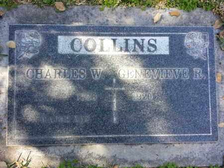 COLLINS, CHARLES W. - Los Angeles County, California | CHARLES W. COLLINS - California Gravestone Photos