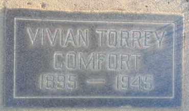 COMFORT, VIVIAN - Los Angeles County, California | VIVIAN COMFORT - California Gravestone Photos