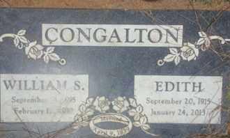 CONGALTON, EDITH - Los Angeles County, California | EDITH CONGALTON - California Gravestone Photos