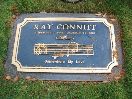 CONNIFF, RAY  (MUSICIAN) - Los Angeles County, California   RAY  (MUSICIAN) CONNIFF - California Gravestone Photos