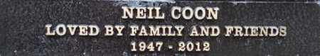COON, NEIL - Los Angeles County, California | NEIL COON - California Gravestone Photos
