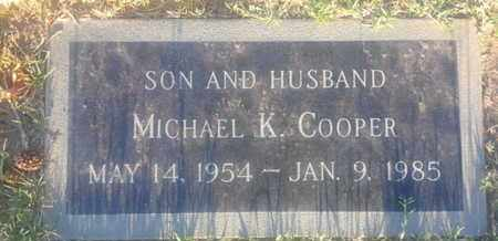 COOPER, MICHAEL - Los Angeles County, California | MICHAEL COOPER - California Gravestone Photos